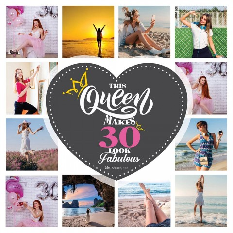 30 & Fabulous Photo Blanket