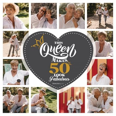 50 & Fabulous Photo Blanket