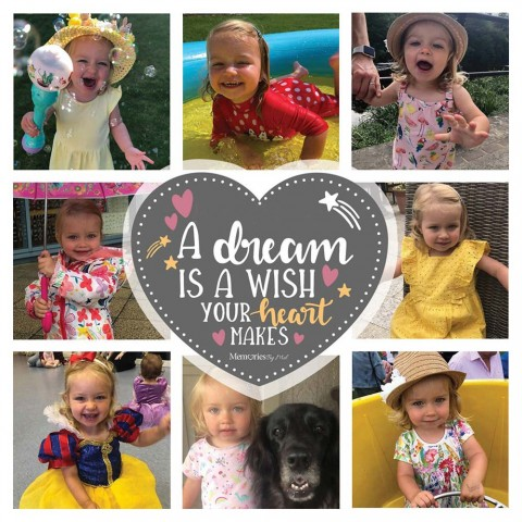 A Dream Is A Wish Your Heart Makes Photo Blanket