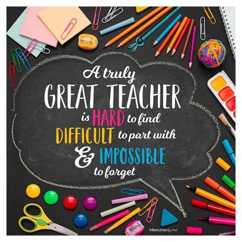 A Truly Great Teacher Photo Blanket