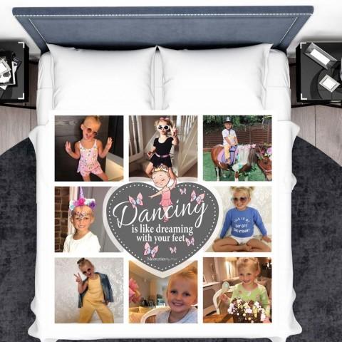 Ballerina Photo Blanket