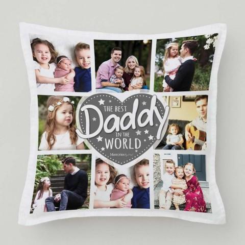 Best Daddy Photo Cushion