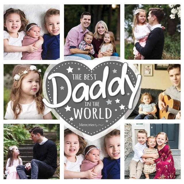 Best Daddy Photo Blanket