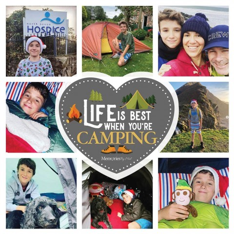Camping Photo Blanket