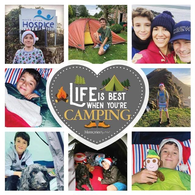 Camping Photo Blanket