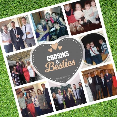 Cousins Bestie Photo Blanket