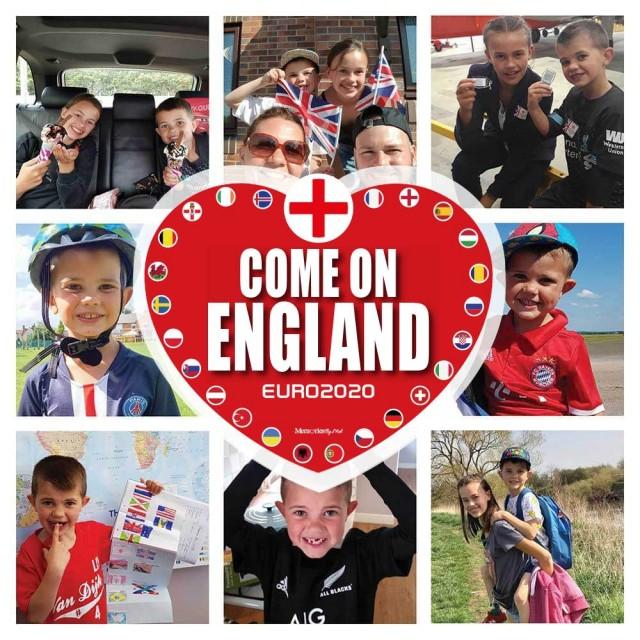 Come On England Photo Blanket
