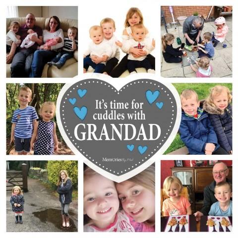Grandad Photo Blanket