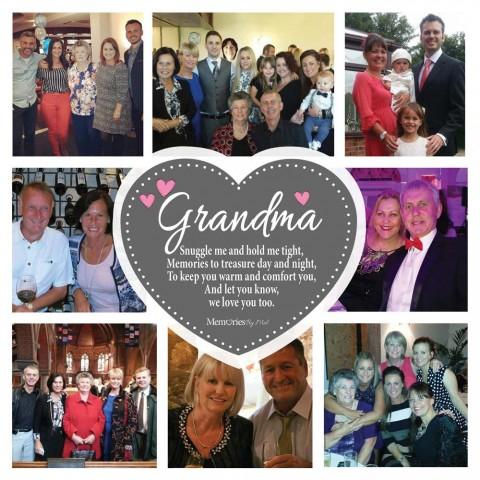 Grandma Photo Blanket