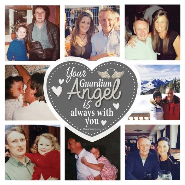 Guardian Angel Photo Cushion