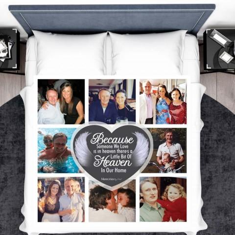 In Memory Photo Blanket