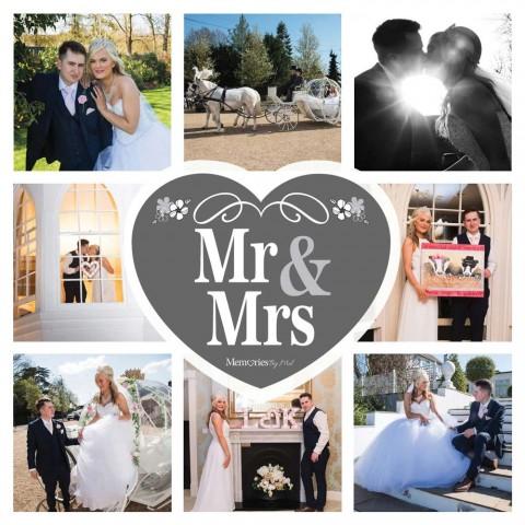 Mr & Mrs Photo Blanket