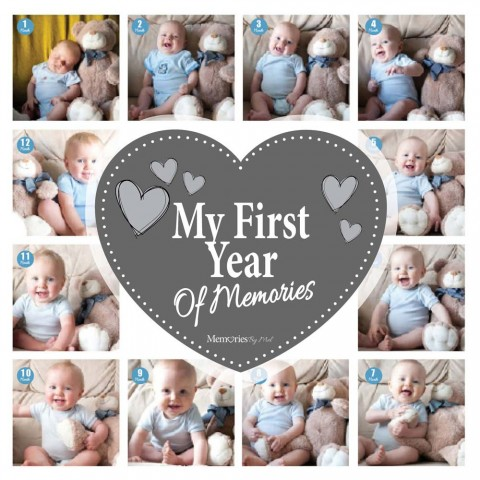 My First Year Photo Blanket