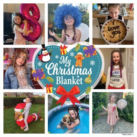 My Christmas Photo Blanket