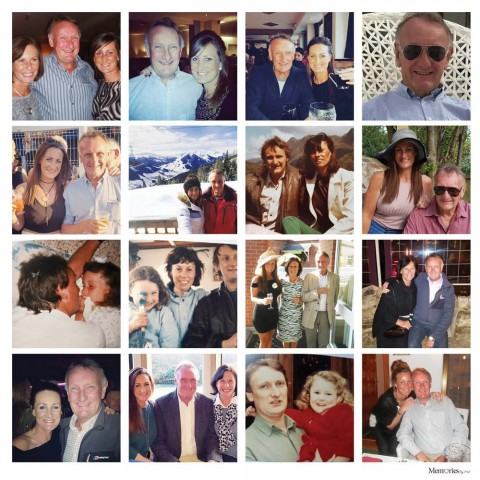 Photo Montage Photo Cushion (16 Photos)