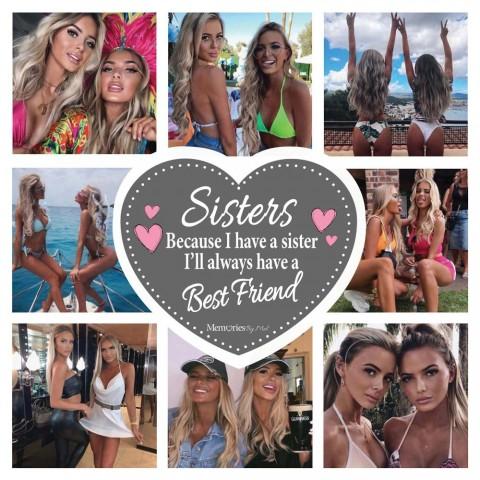 Sisters Photo Blanket