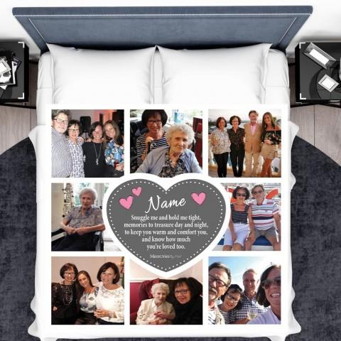 Snuggle Me Photo Blanket