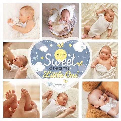 Sweet Dreams Photo Blanket
