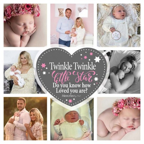 Twinkle Twinkle Pink Photo Blanket