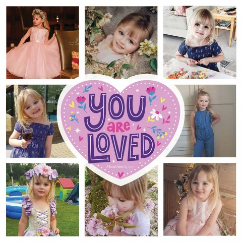 You Are Loved Photo Blanket